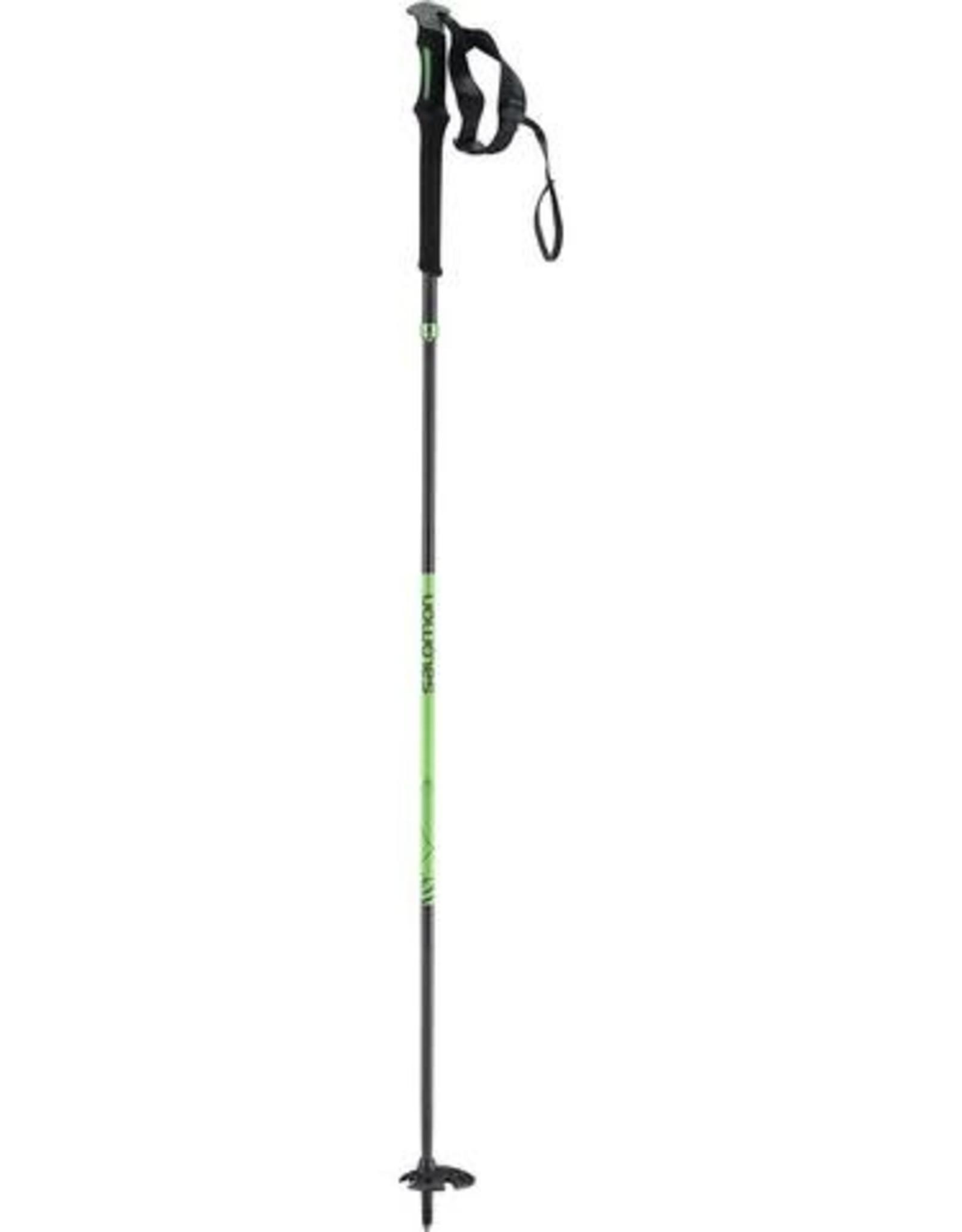 Salomon SALOMON Poles MTN OUTDOOR All Season Poles Black/Green 130cm