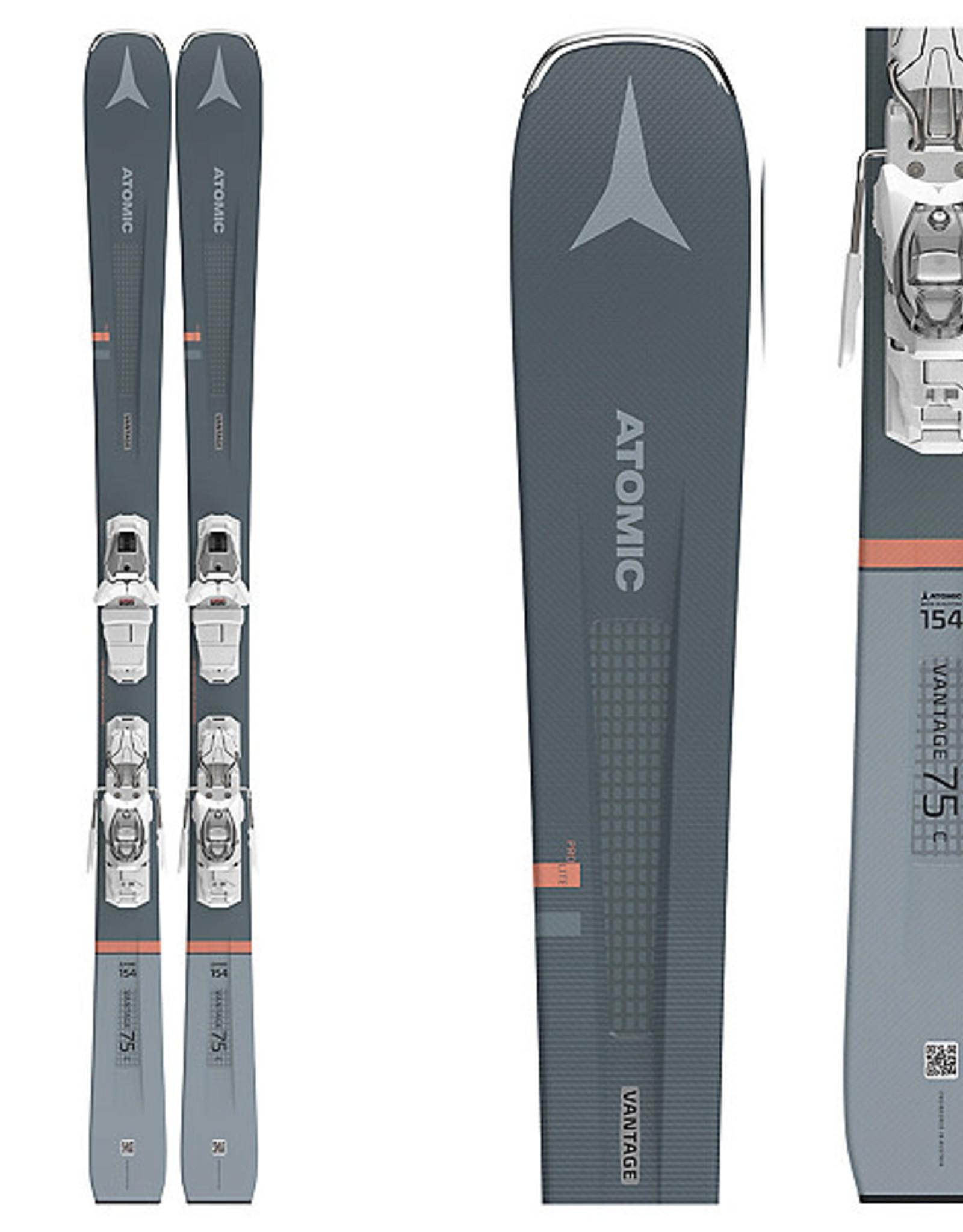 ATOMIC ATOMIC Skis VANTAGE 75 C W with M 10 GW Bindings (21/22)