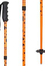 BLACK CROWS BLACK CROWS Poles DUOS JUNIUS Neon Orange Adjustable 80cm-105cm