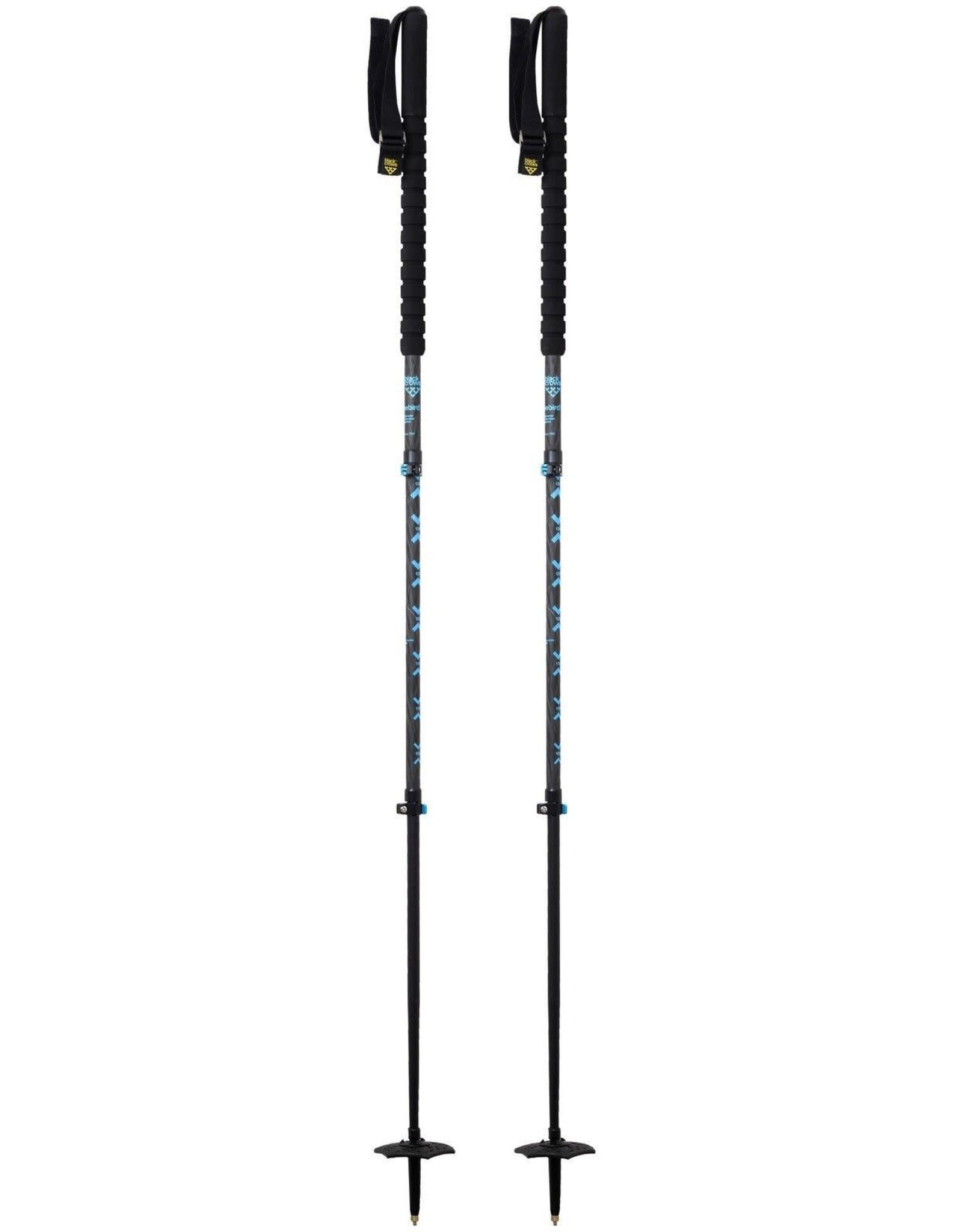 BLACK CROWS BLACK CROWS Poles TRIOS FREEBIRD Black/Blue Adjustable 115-140cm