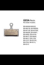 Shimano SHIMANO BRAKE PAD BR-M9000 RESIN G03A