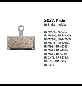 Shimano SHIMANO BRAKE PAD BR-M9000 METAL PAD & SPRING G04Ti
