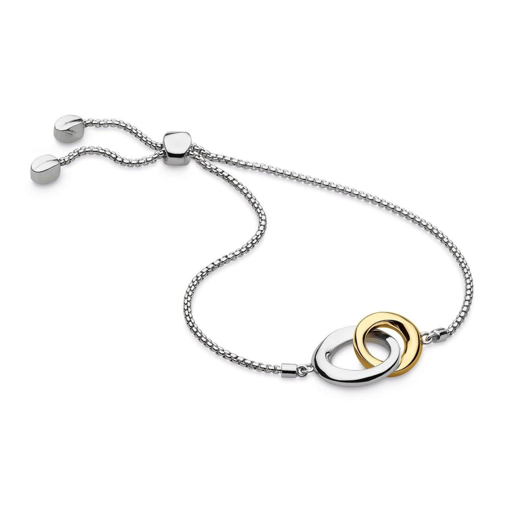 Bevel Cirque Link Toggle Bracelet