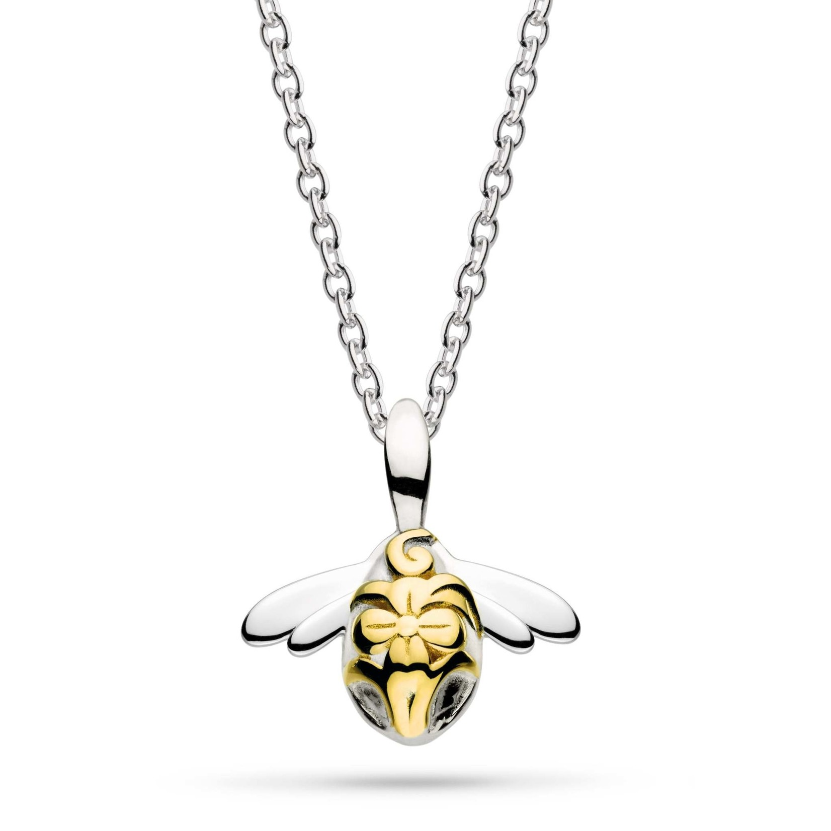 """Blossom Bumblebee Wee Gold Plate 17"""" Necklace"""