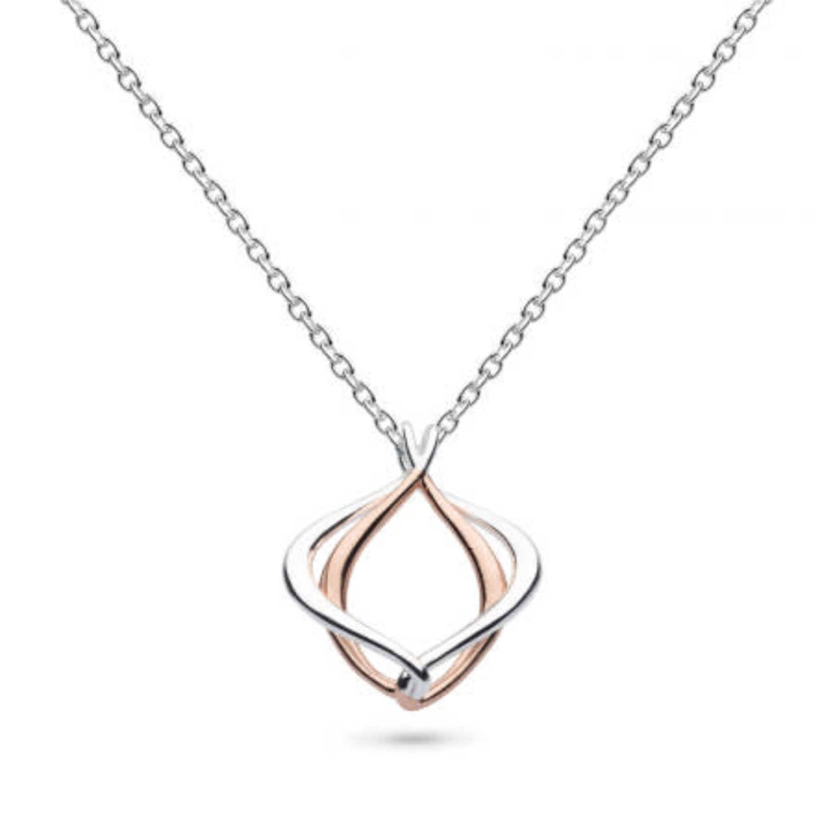 Entwine Alicia Small Rose Necklace