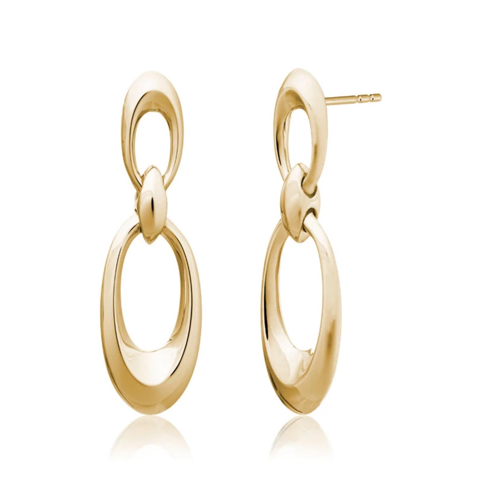 14KY Juniper Drop Earrings