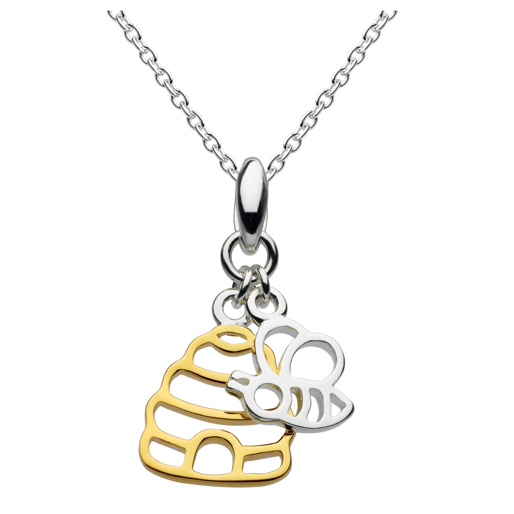 SS/Dew Honey Bee Yourself Gold Plated Hive & Bee