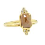 Vintage-Inspired Rose-Cut Diamond Ring