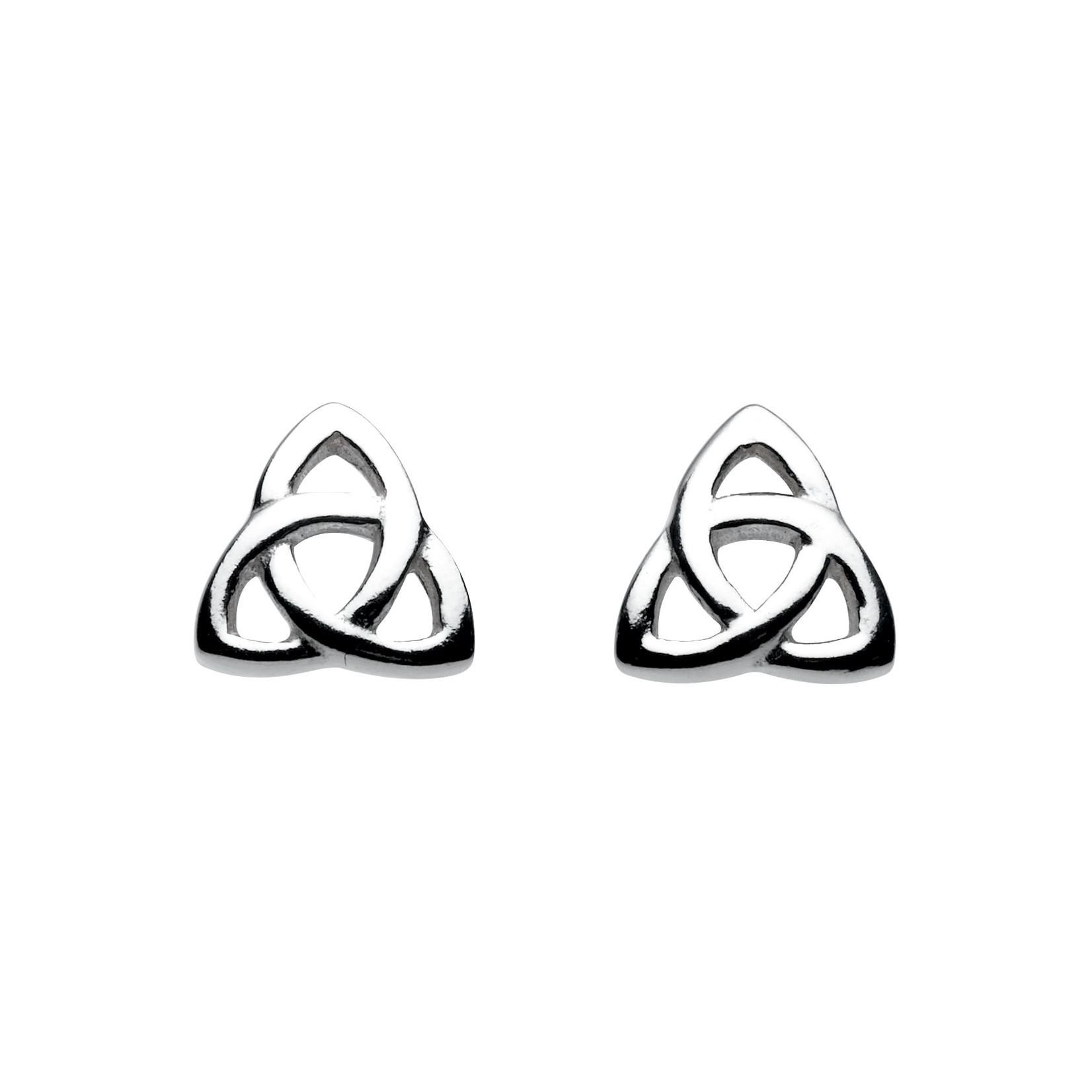 Heritage Celtic Trinity Knot Stud Earrings