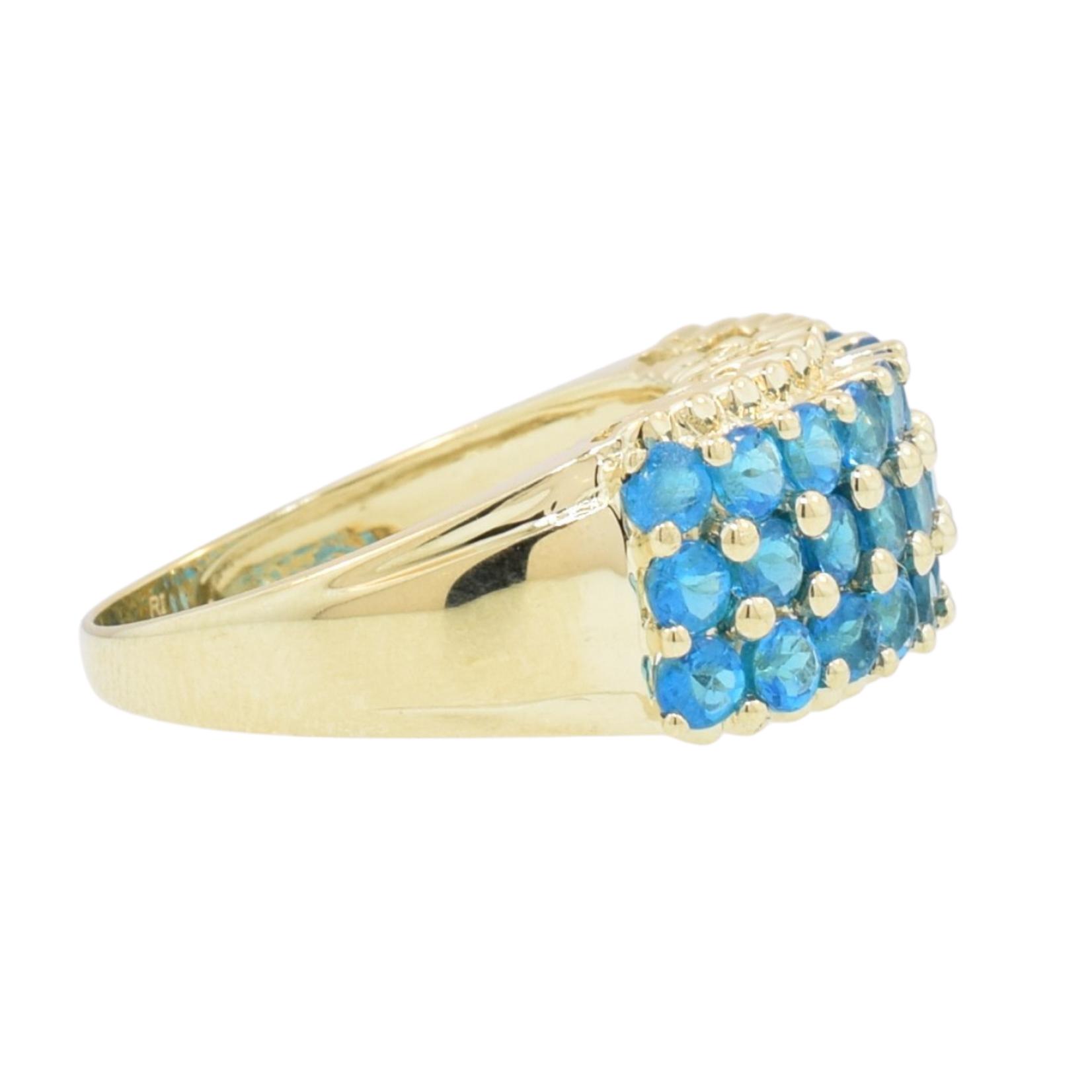 Estate Blue Apatite Ring