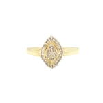 Estate Marquise Cluster Ring