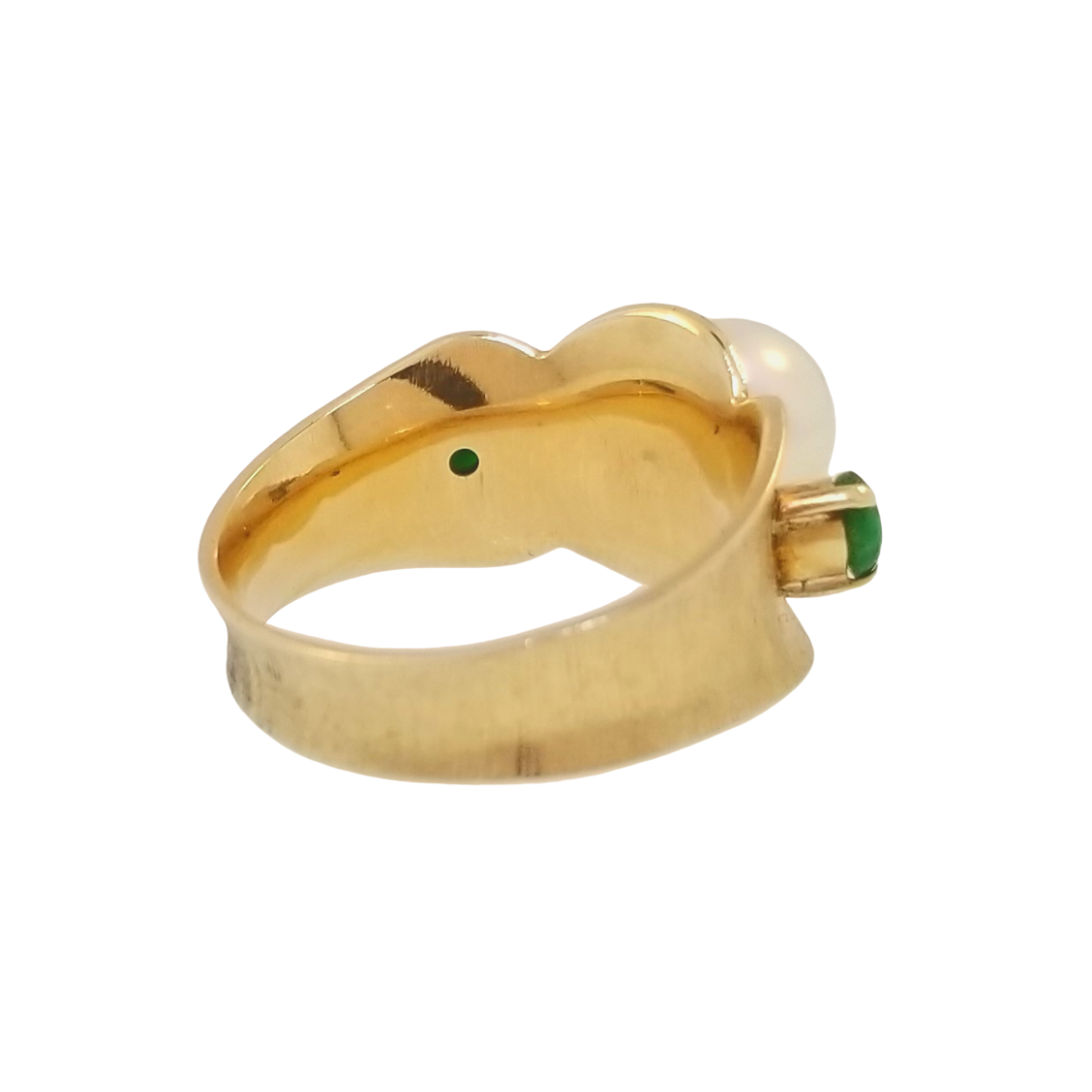Estate Gold & Pearl Ring