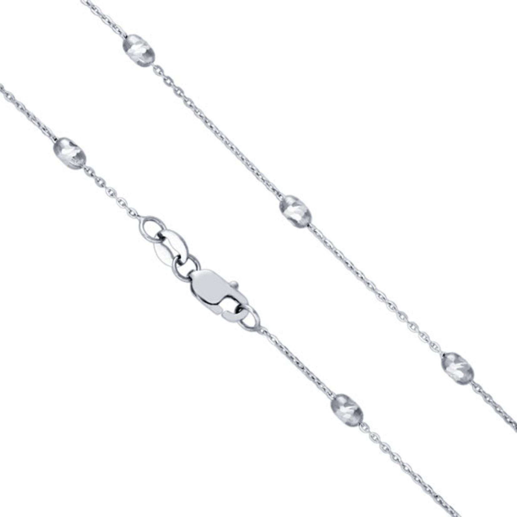 Ovalina Station Necklace