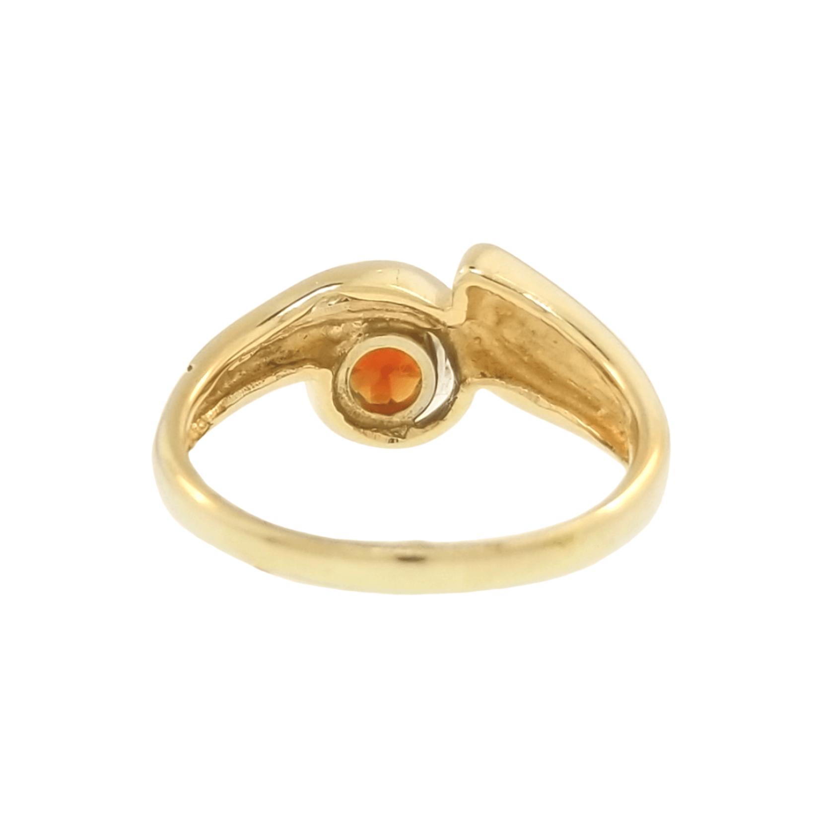 Estate Madeira Citrine Ring