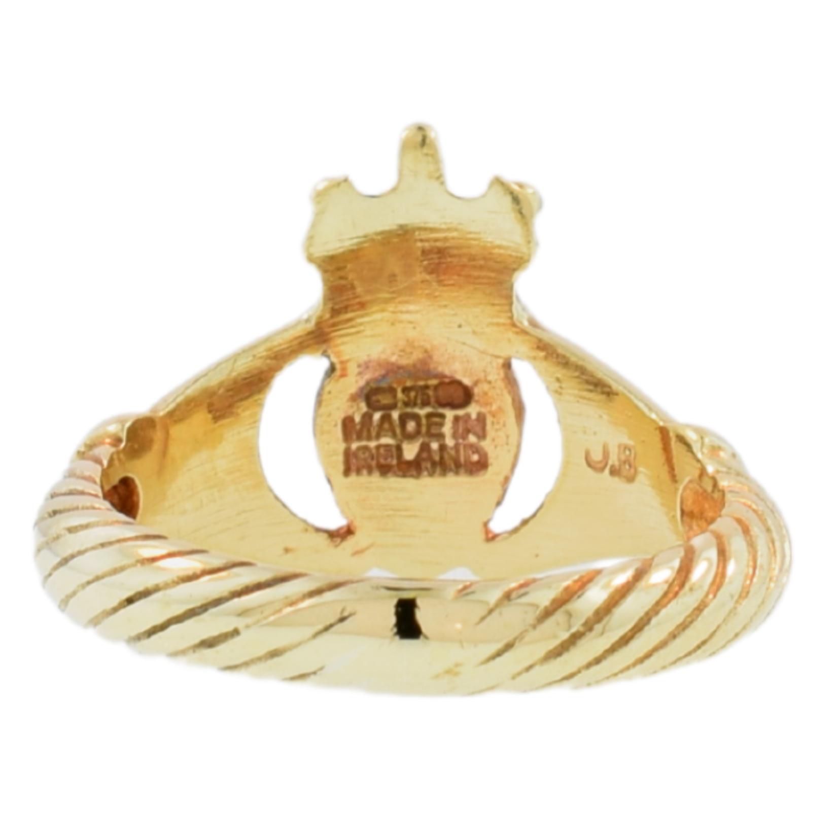 Estate Gold Claddagh Ring