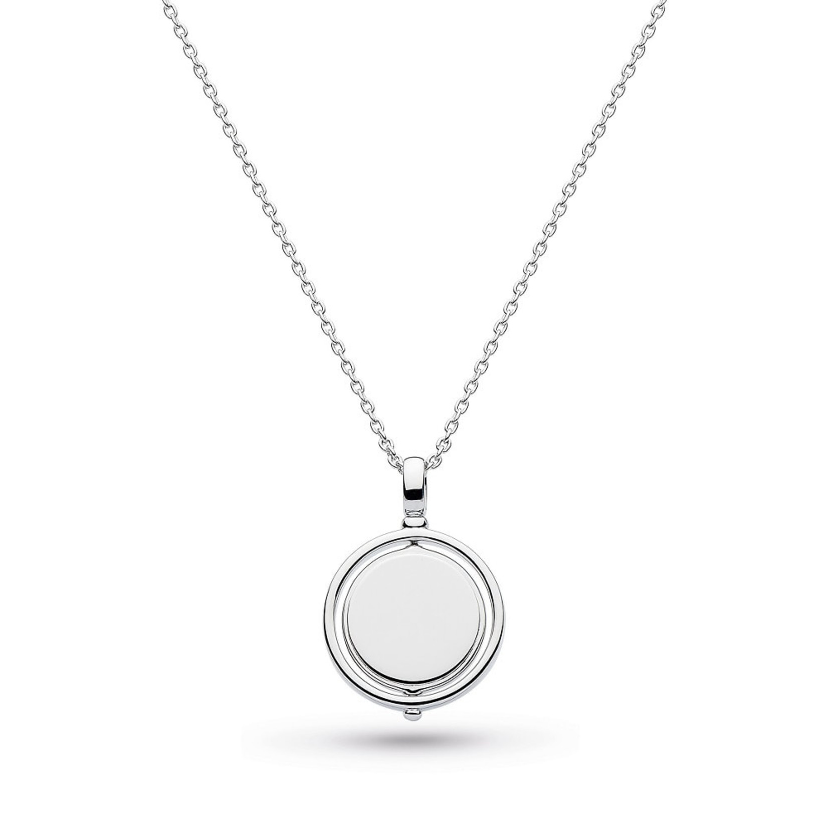 Empire Revival Round Spinner Necklace