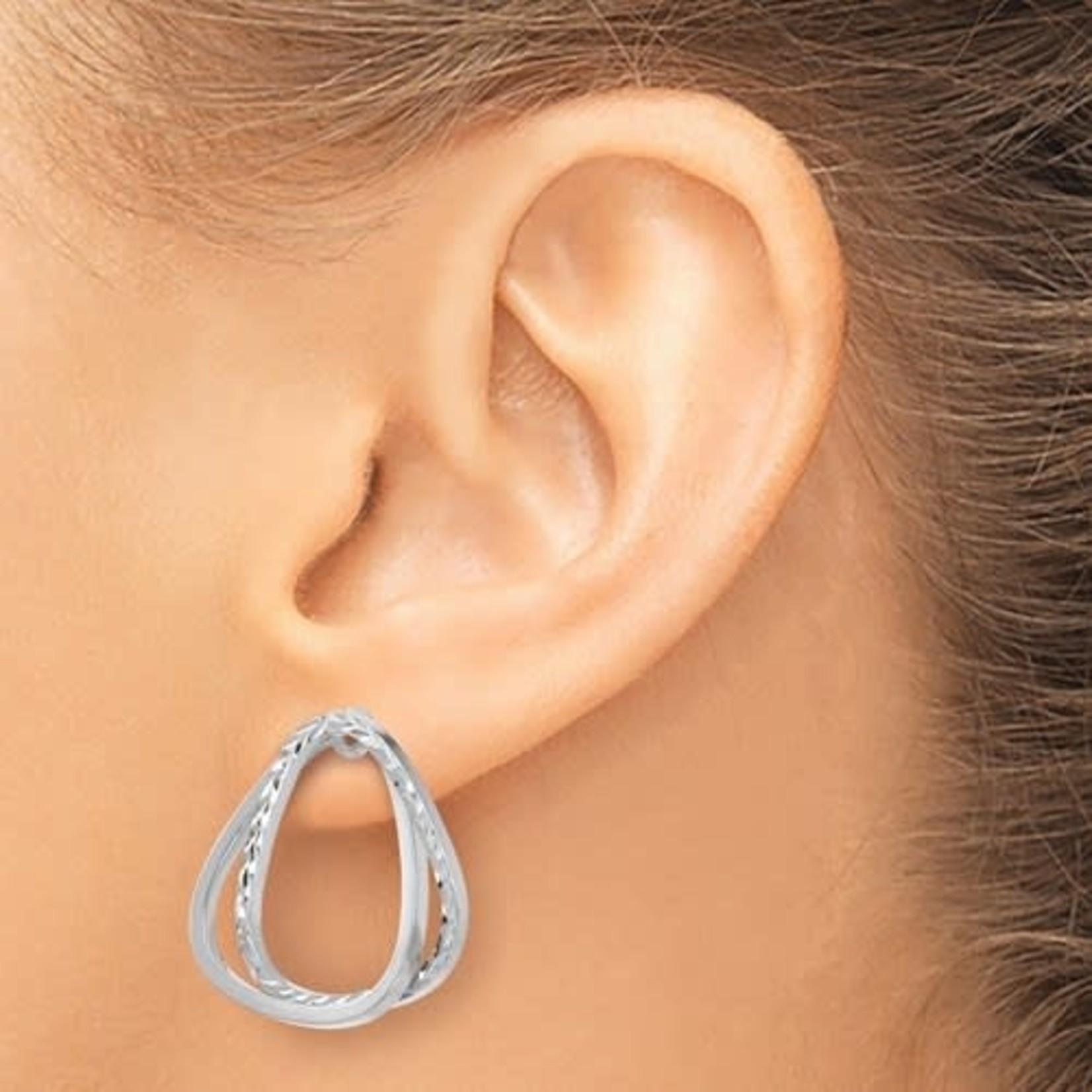 Gold Versatile Triangle Post Earrings