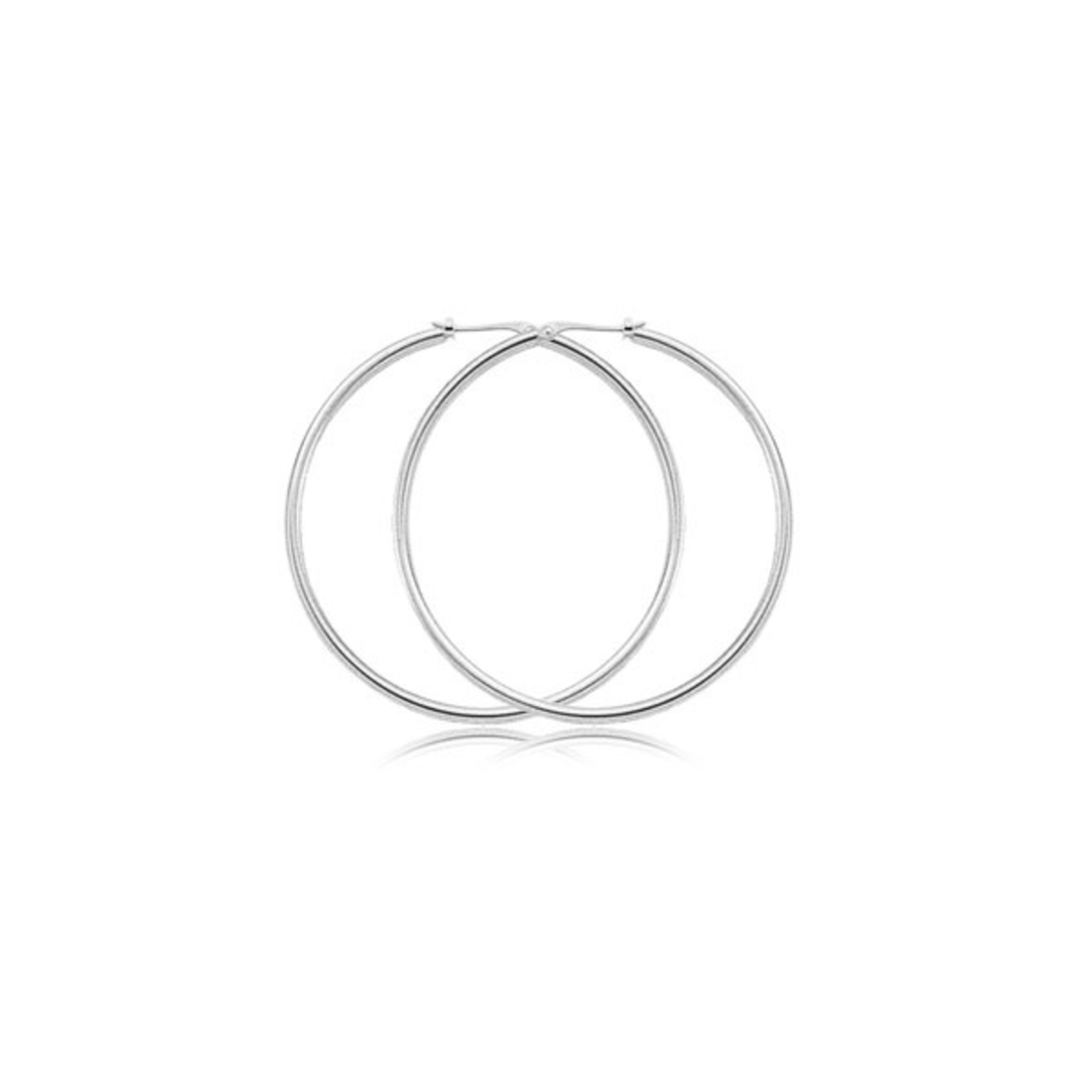 14KW Classic XL Hoop Earring