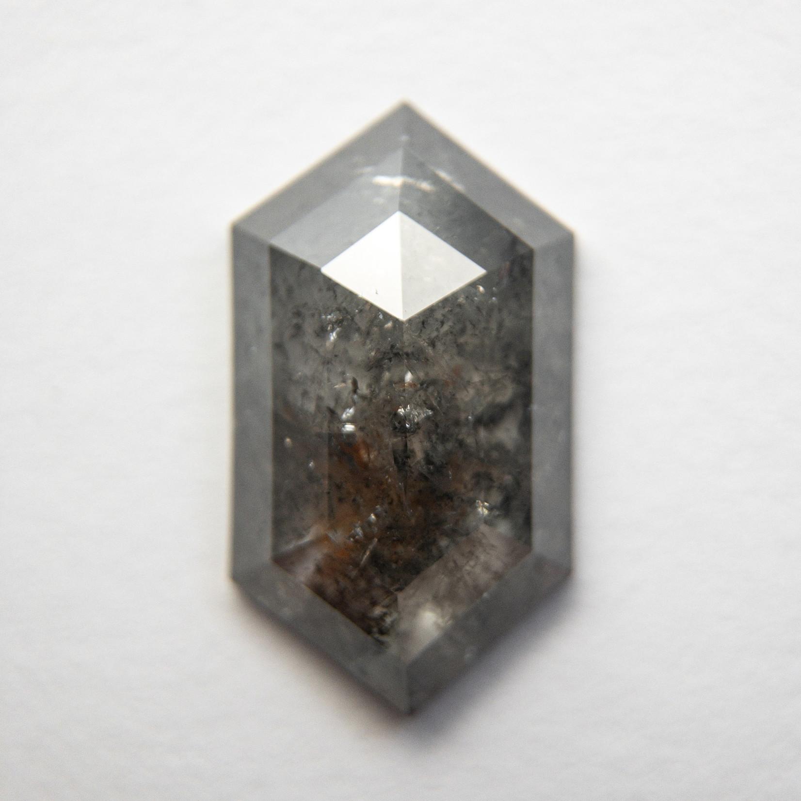 2.39 Carat Salt + Pepper Hexagon Diamond