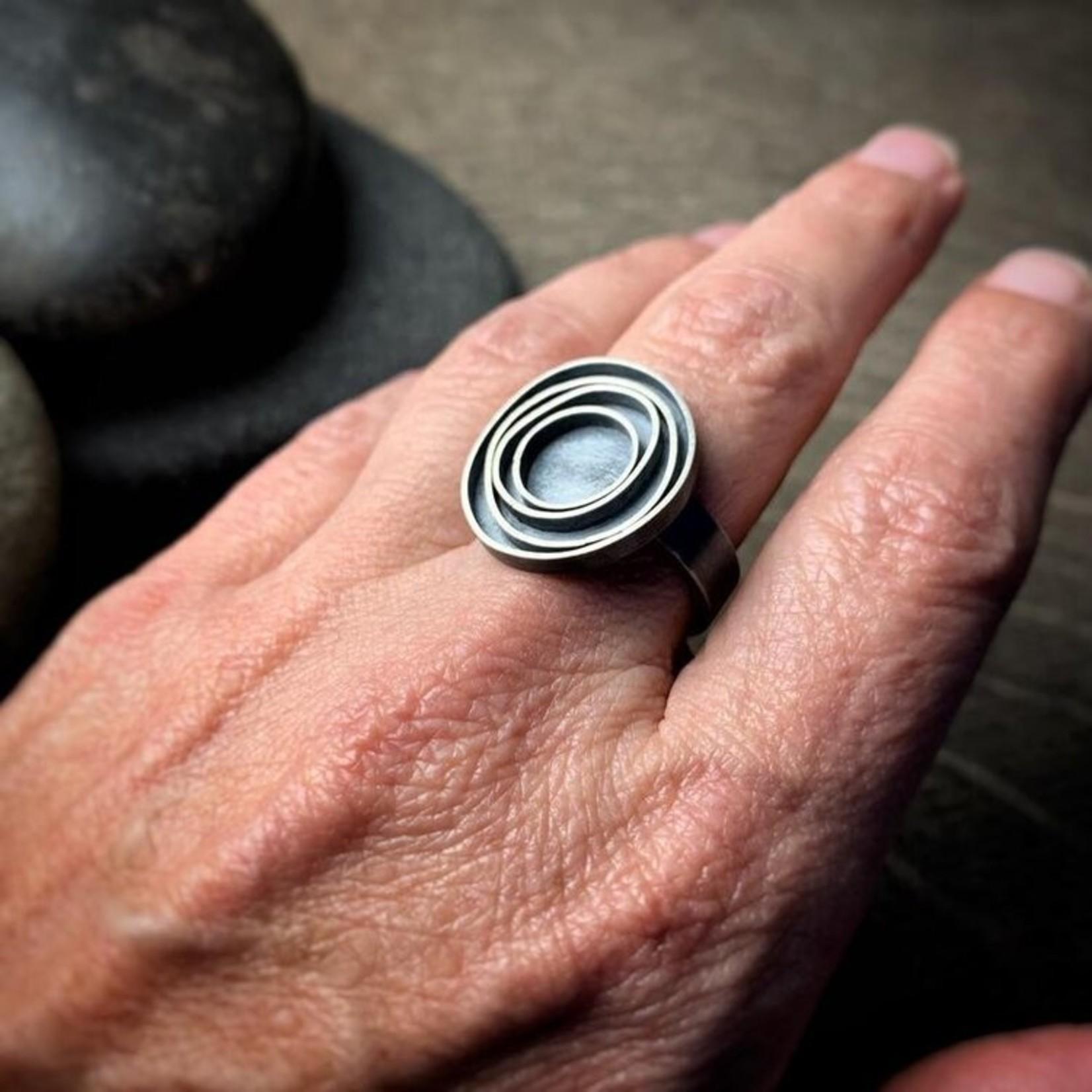 Hartley Studio Orbit - Modern Statement Ring