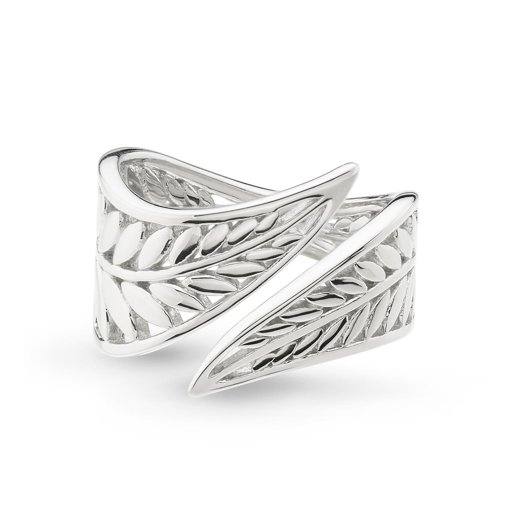 Blossom Eden RP Wrapped Leaf Ring