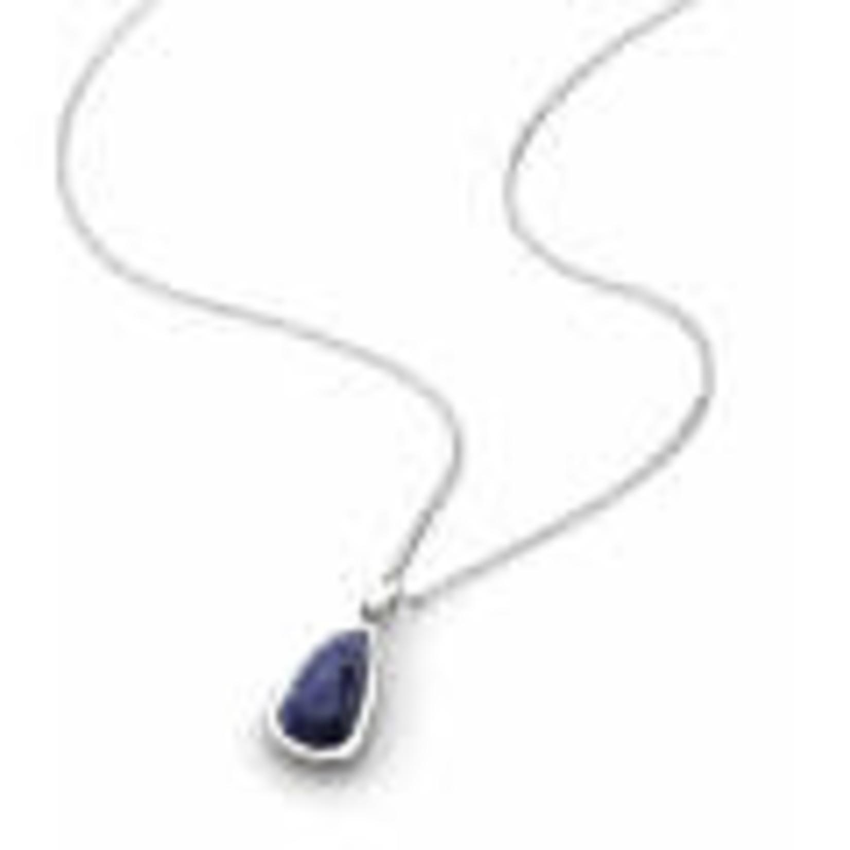 """Coast Pebble Stone Lapis Lazuli 18"""" Necklace"""