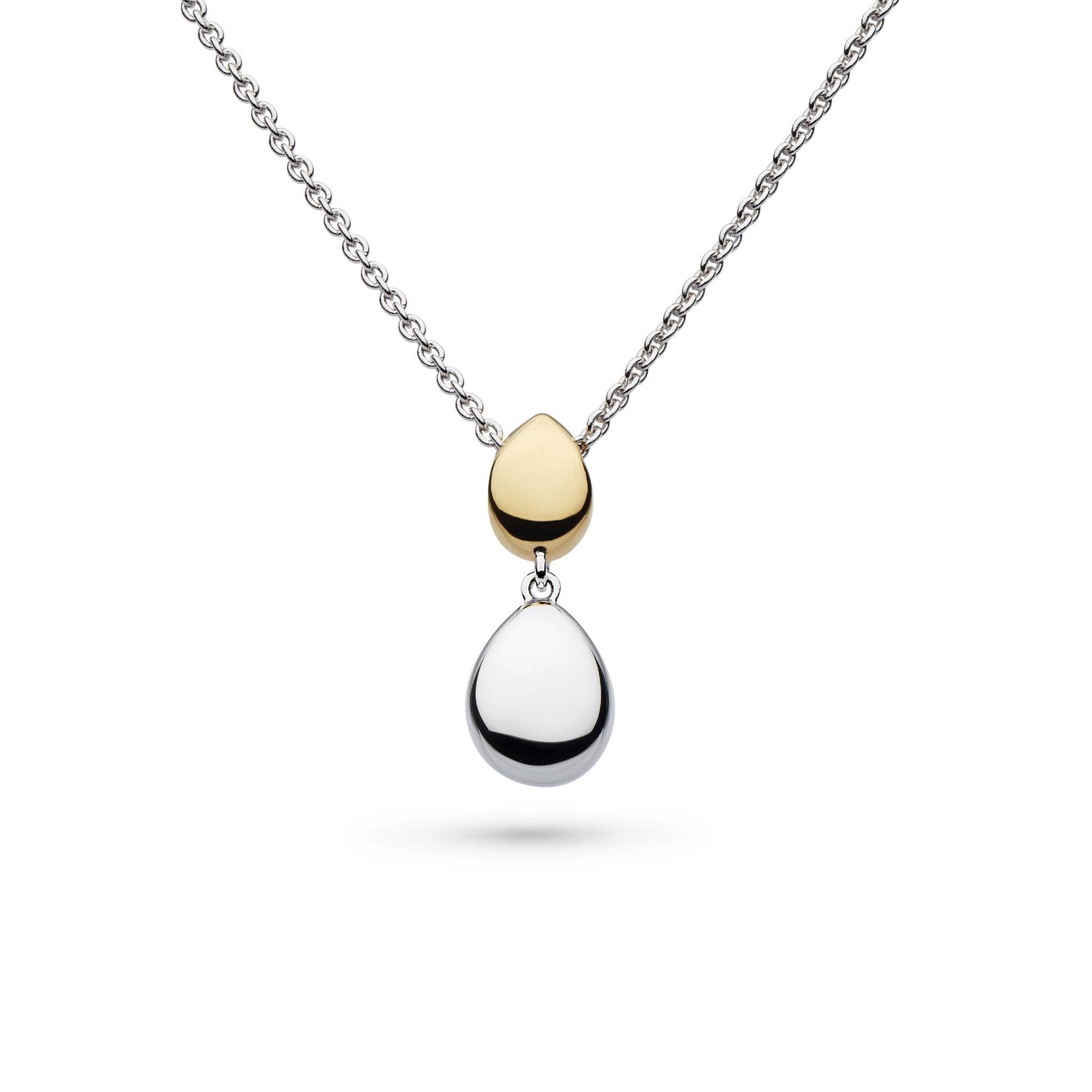 Coast Pebble Golden Necklace