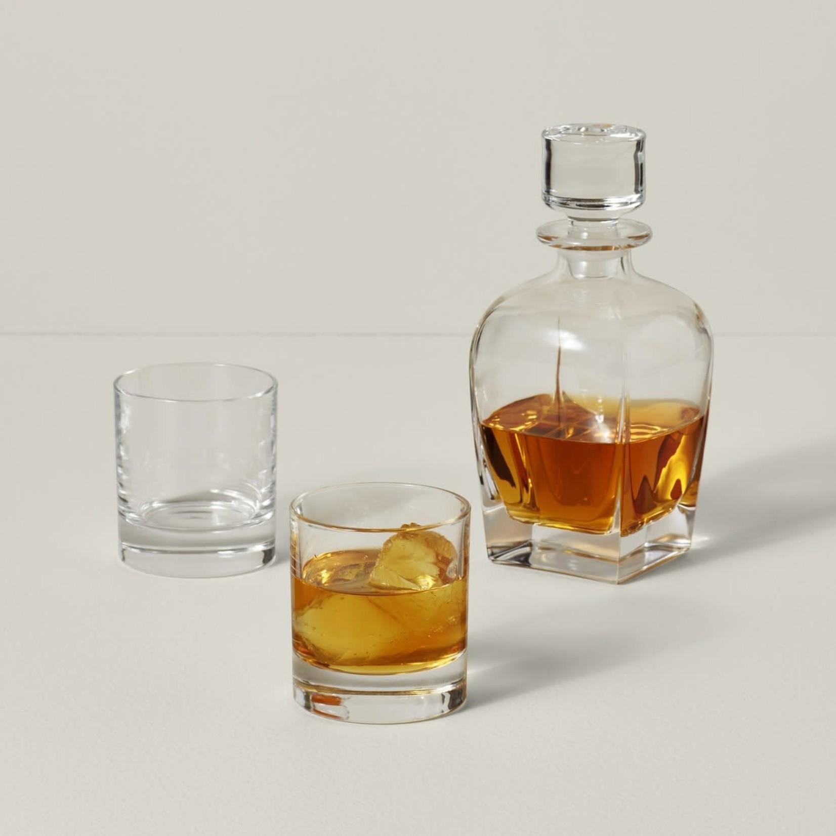 Lenox Tuscany Classics 3-Piece Whiskey Decanter & Glass Set