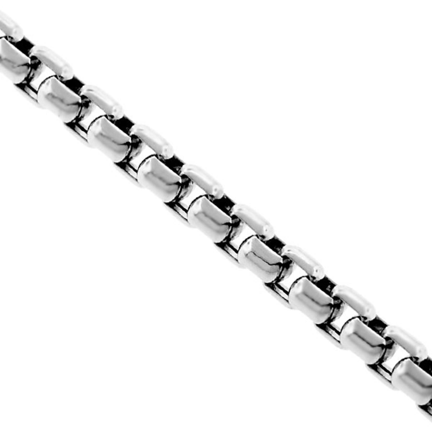 Silver Venetian Box Chain