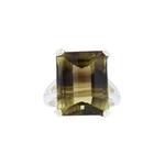 Bi-Color Quartz Ring