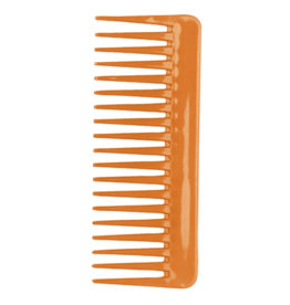 Wide tooth fluff comb