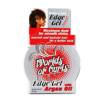 Worlds of curls edge gel