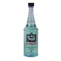 Black Magic AFTER SHAVE LOTION - Alcohol Free - 14oz blue bottle