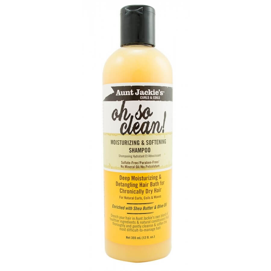 Aunt Jackie's oh so clean shampoo for dry hair
