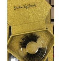 Pardon my French lashes 5 D