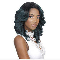 Lace Frontal Asymetrical Curl Synthetic wig