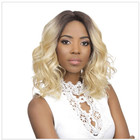 Blonde Curly Bob Lace frontal