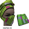 2 piece mask and head wrap