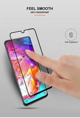 Mocolo Samsung Galaxy A70 Tempered Glass Screen Protector