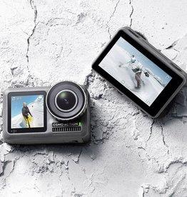 Dji DJI OSMO Action Cam Digital Camera with 2 Displays 36FT/11M Waterproof 4K HDR-Video 12MP 145° Angle Black