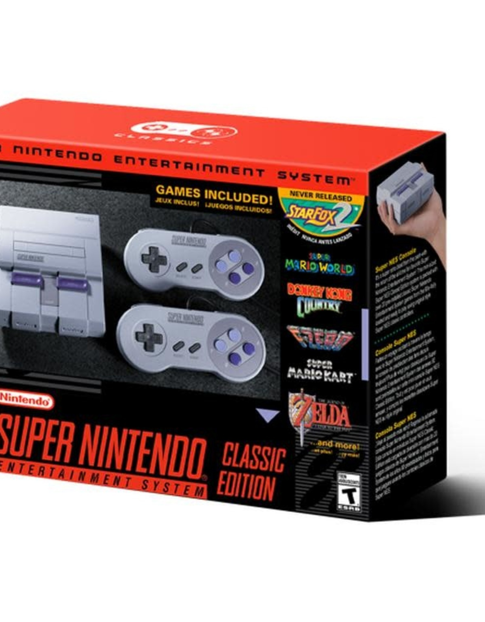 nintendo Super Nintendo Mini Retro 821 Gaming System