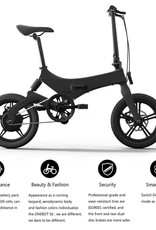 RAYCON Mini Scoot-E Electric Bike Black*