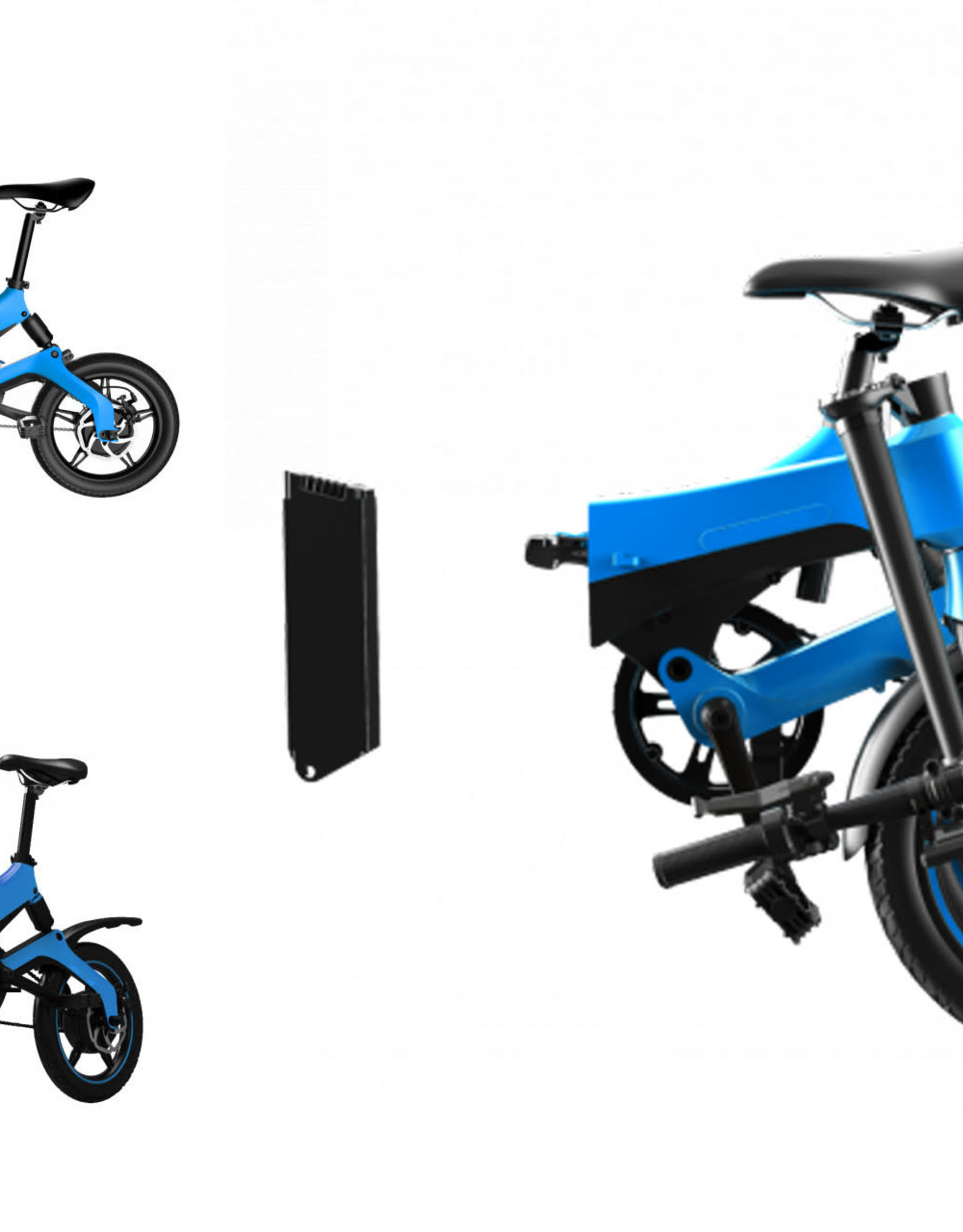 RAYCON Mini Scoot-E Electric Bike Blue*