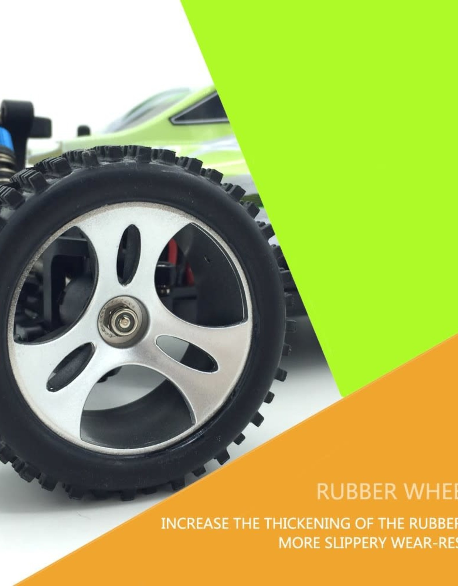 Wally Toys WLTOYS A959-B 1/18 2.4G 70km/h Buggy Off-road RC Racing Car Toy - US Plug