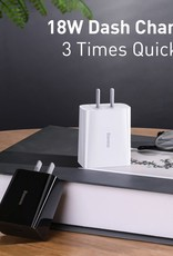 Baseus BASEUS Speed Mini Power Adapter Single Type-C Quick Charger 18W