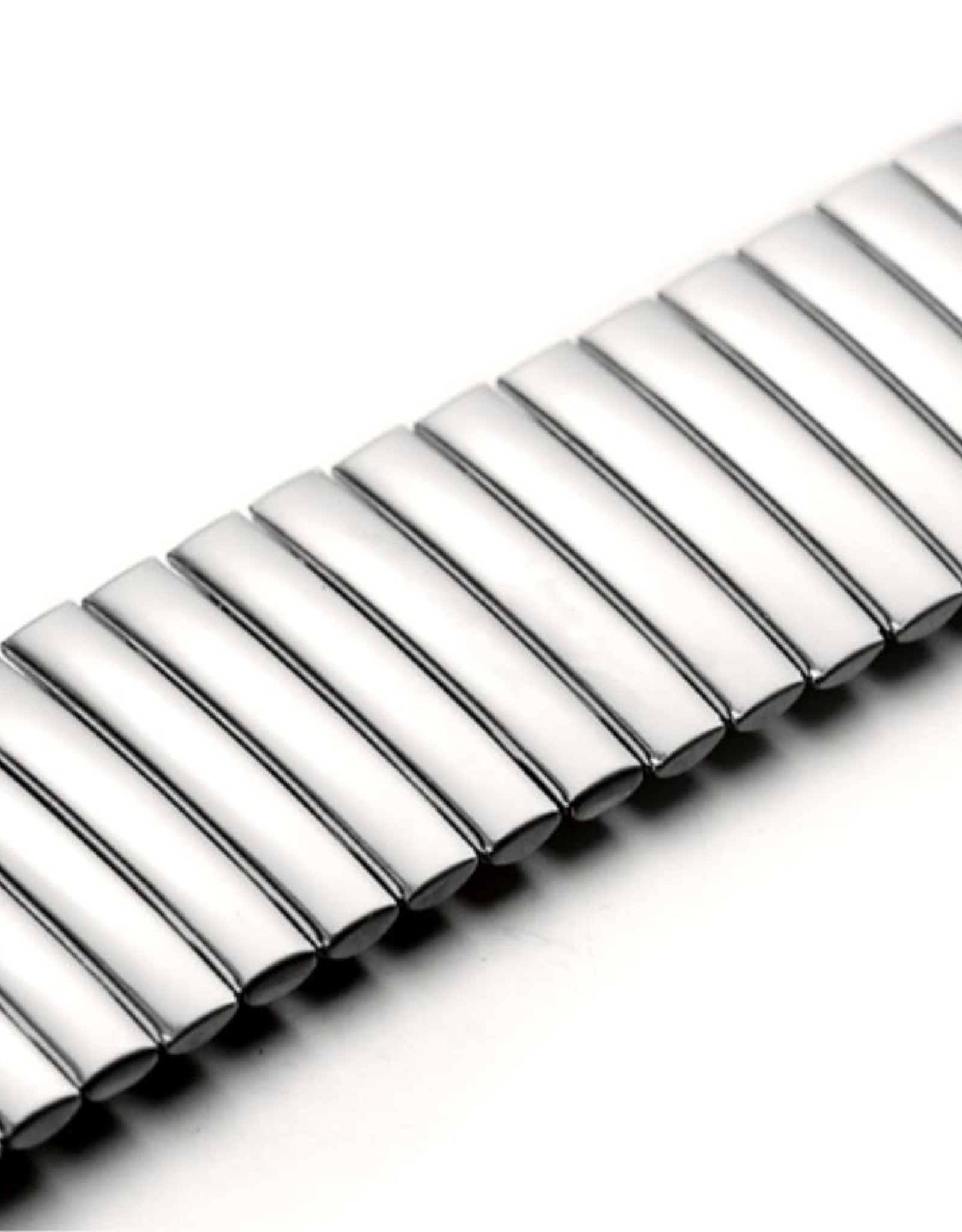 Flexible Stainless Steel Watch Band for Apple Watch Series 5/4 40mm / Series 3/2/1 38mm