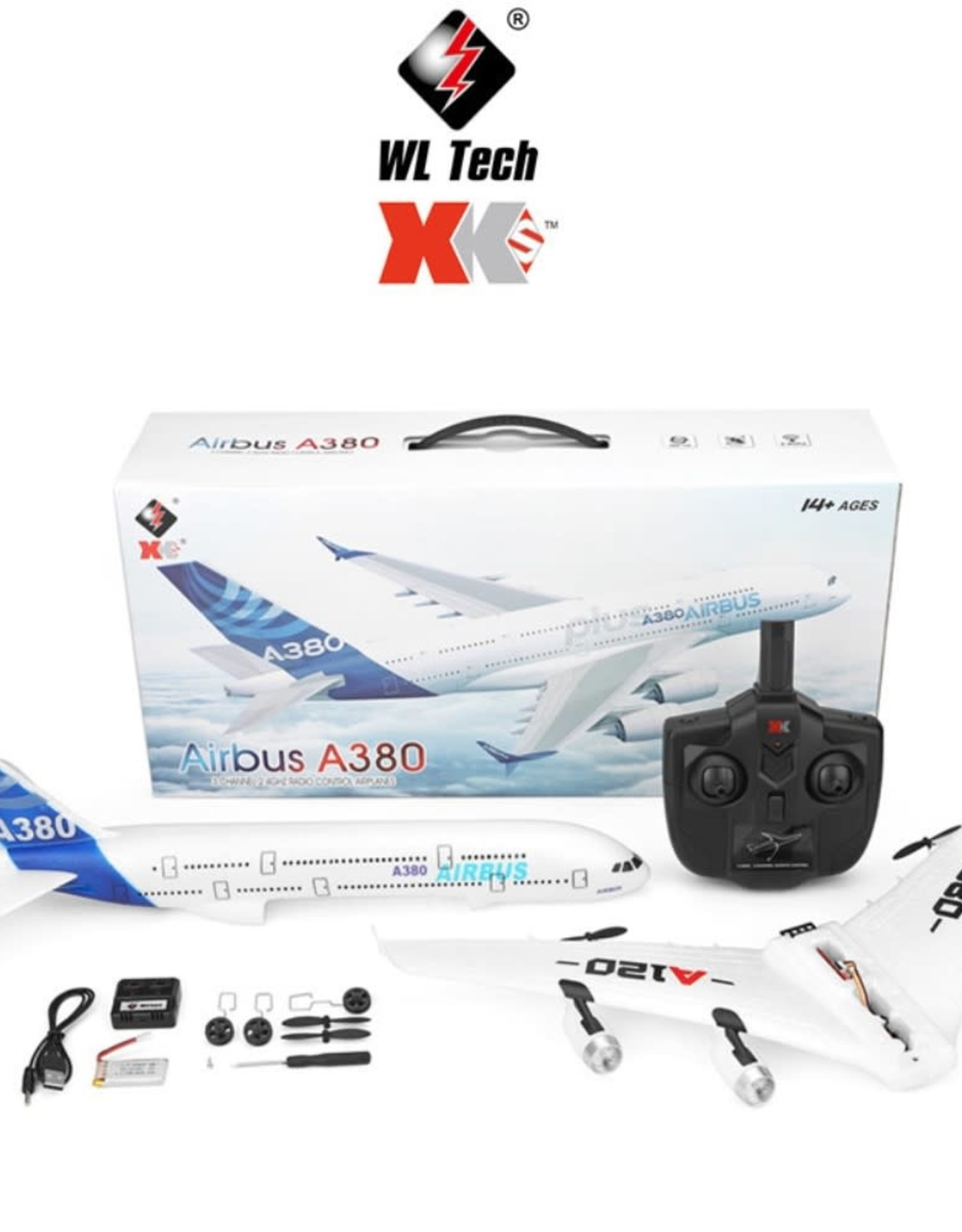 WL TOYS WLTOYS A120 3 Channel 6-Gyro 2.4GHz RC Quadcopter Drone
