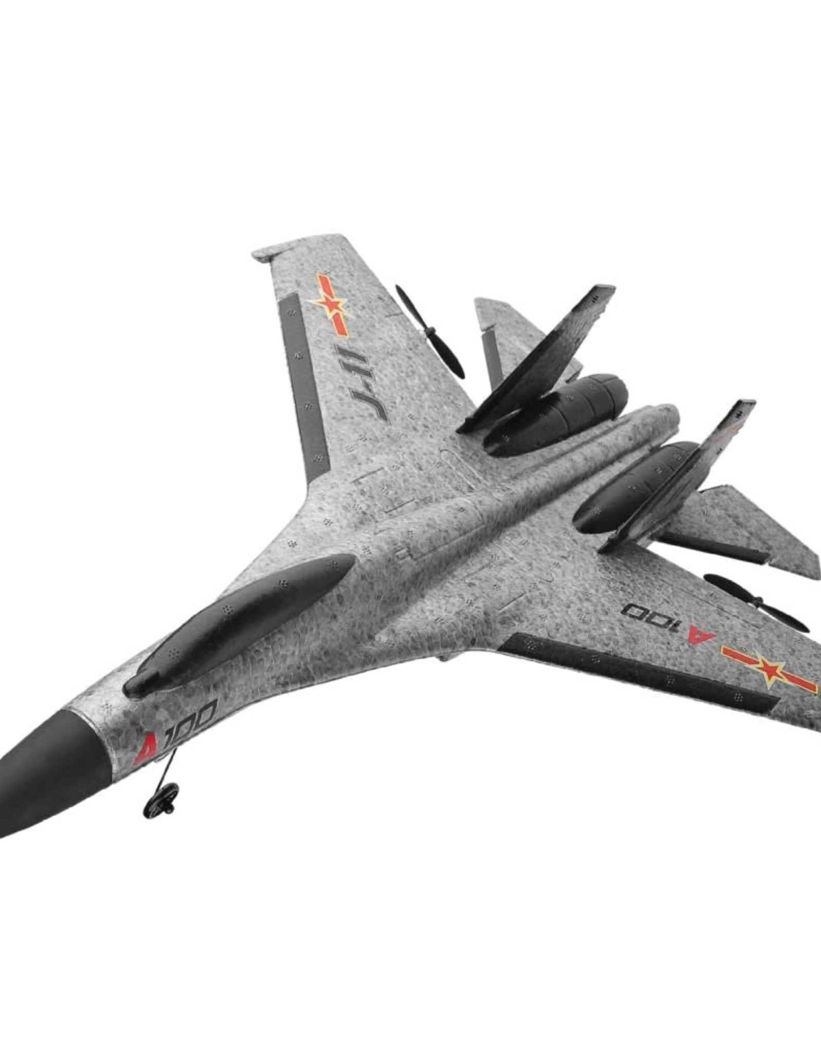 WLTOYS A100-J11 EPP 340mm Wingspan 2.4G 3CH RC Airplane Fixed Wing Aircraft Plane Toy - Grey