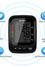 MUIFA Upper Arm Blood Pressure Monitor with Large Display