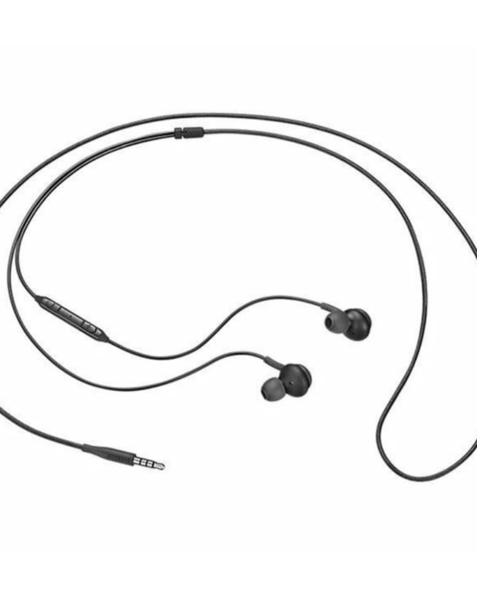 AKG EO-IG955 Stereo Handsfree Earphone Headphone with Mic and Remote Control - Black